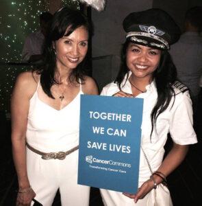 Dominique Kim and Toni Alejandria